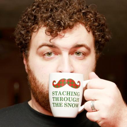 TK's Christmas mug.